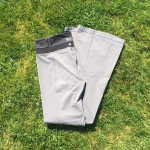 "Lululemon Grey Leggings Size 8 Regular 30"" Inseam"